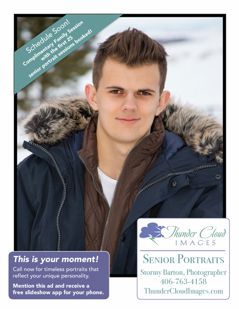 Senior Portraits for Bozeman High School Student Aidan Mayr